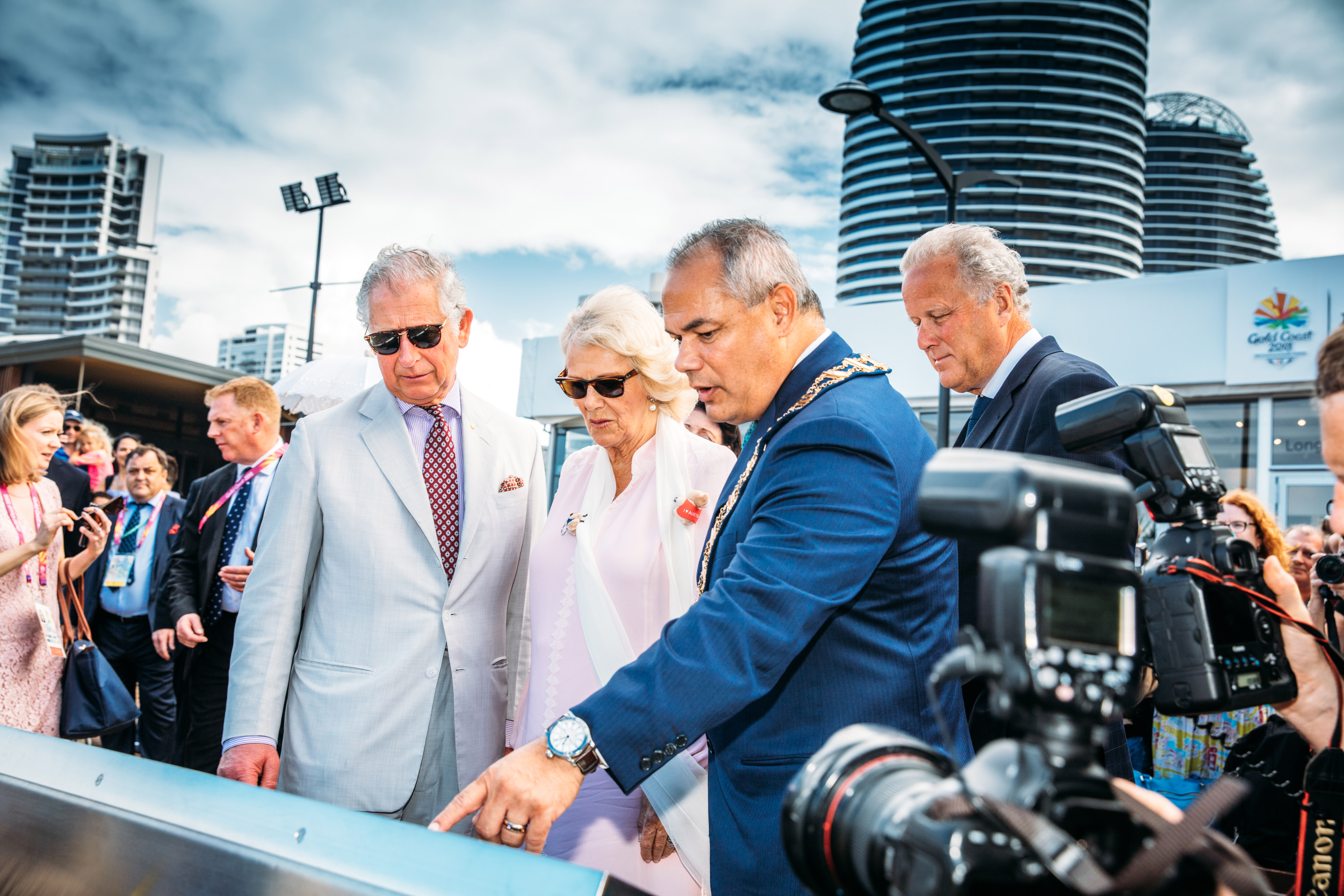 HRH The Prince of Wales launches Gold Coast Commonwealth Walkway